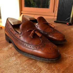 Vtg Florsheim Imperial tassel loafers sz. 8EE